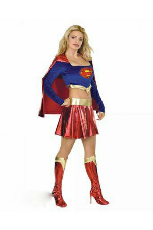 X46 Costum tematic Superwoman