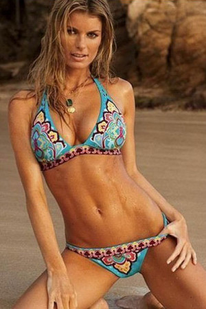 SW164-4 Costum de baie cu model hippie