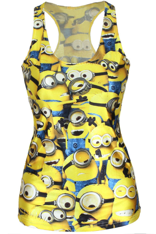 BL334-9 Maieu casual cu model Minions