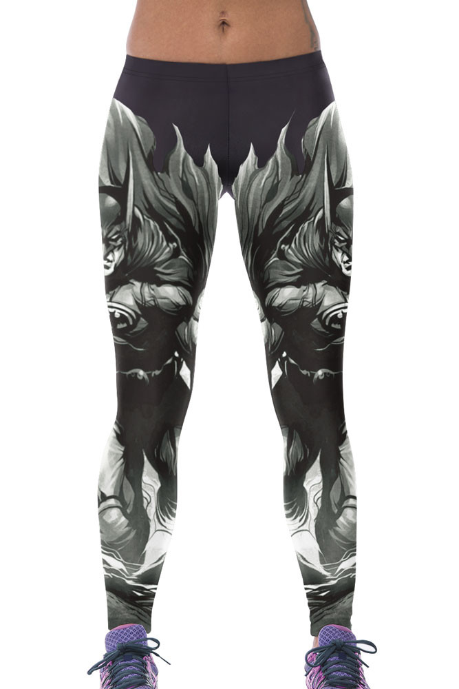 CL519 Leggings sport Stylish Batman