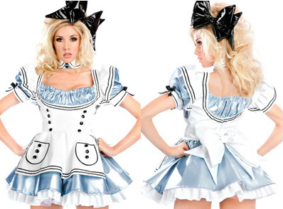 G145 Costum tematic Alice in Tara Minunilor