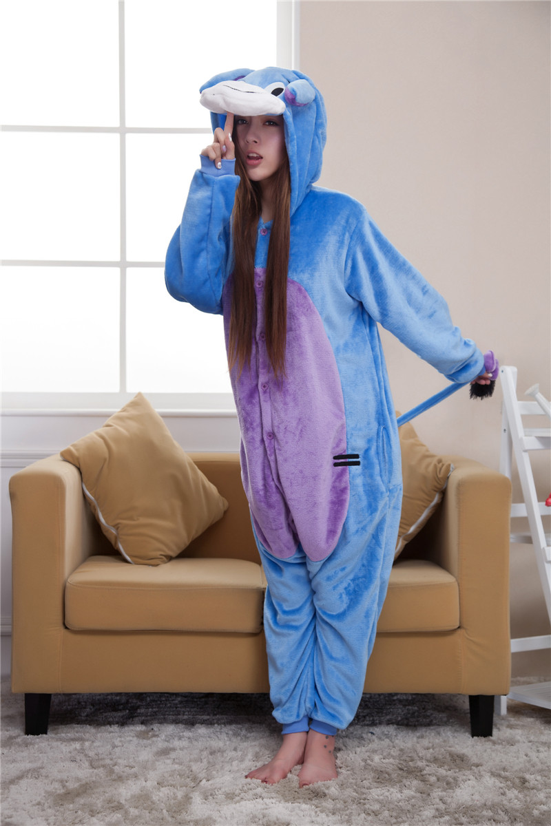 L304-4 Pijama intreaga kigurumi, model magar