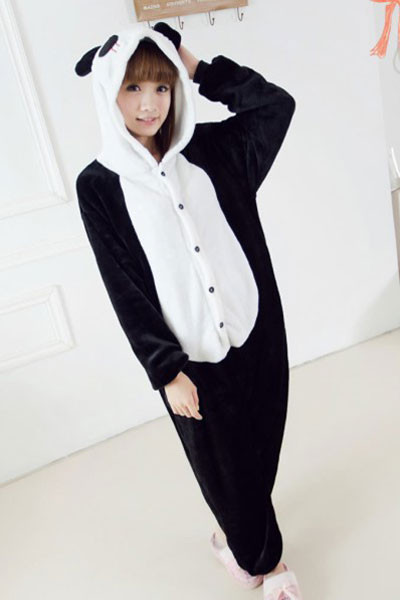 L306 Pijama intreaga kigurumi, model urs panda