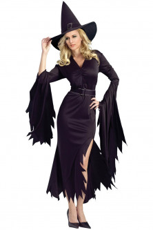 Noutati - K498-1 Costum tematic Hallowen - Gothic Witch