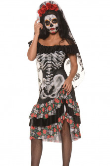 Basme si Legende - Q540 Costum tematic Halloween Queen of the Dead