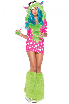 Altele - W137 Costum tematic Haloween- Monster's University
